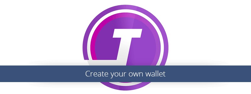 Create your own wallet.